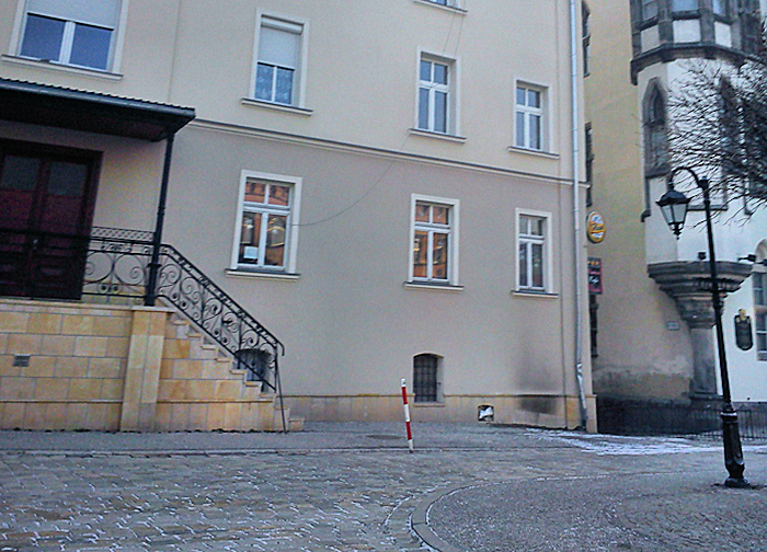Odymiona Fasada Budynku Galeria 2 2 Express Miejski Pl Powiat